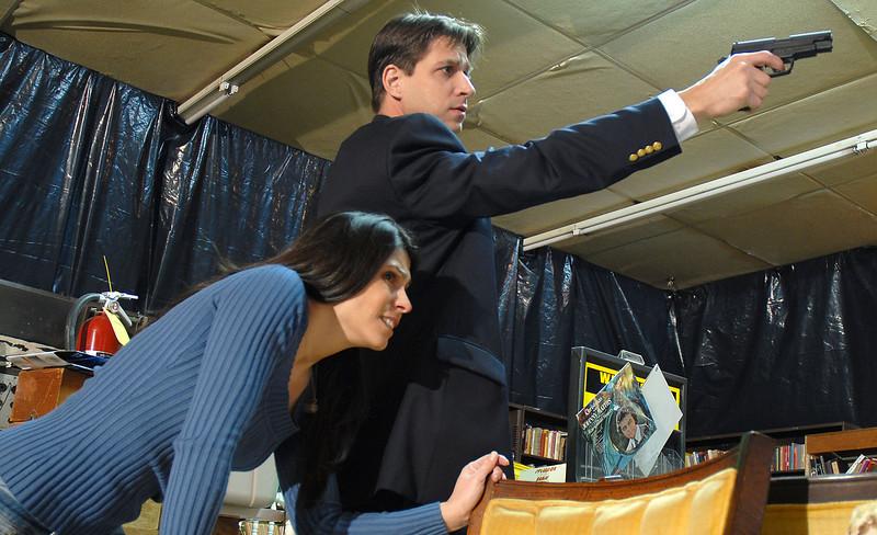 production photo, Gary and Dana