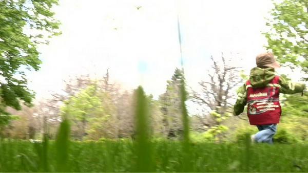 Marius au Jardin Botanique