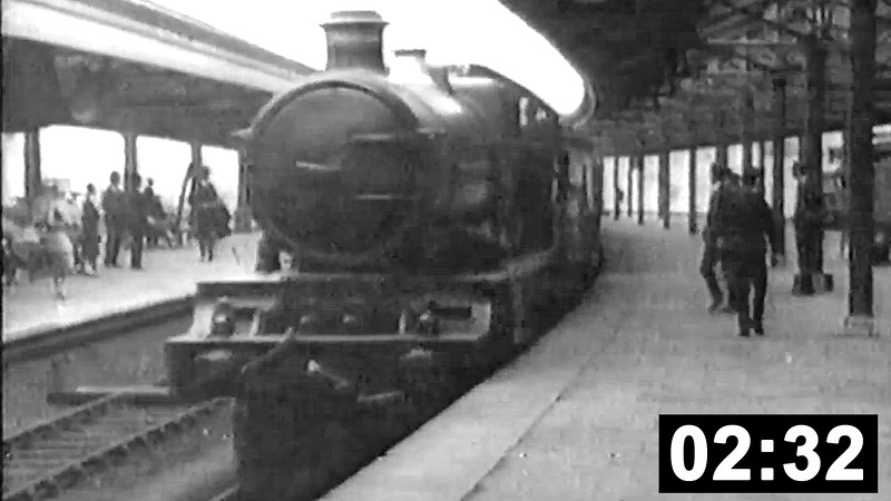 Rails around Swansea. Miscellaneous footage from various sources. (2 min 32 sec.)