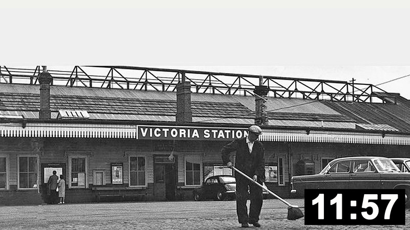 Swansea Victoria to Pontarddulais.  Swansea Victoria was served by trains to and from Shrewsbury, Crewe, Liverpool, Manchester and York <br>and formed the southern terminus of the Central Wales line, most of which is still operational. <br>The Swansea Victoria to Pontarddulais section closed in June 1964. (11 min 57 sec.)