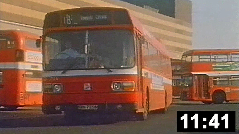 SWT in the National Bus era. Bristol VRTs, Leyland Nationals, AEC Regent Vs plus the odd Ford R1014 and a Reliance filmed in Swansea City Centre 1979/80.<br> Look out for a glimpse of the AEC Matador! (11 min 41 sec.)