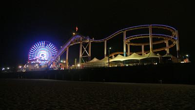 Santa Monica Pier Time Lapse