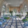 Fisheye View of the Solarium, Filoli Gardens