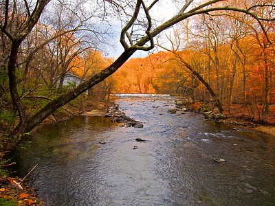 Brandywine Creek at the DuPont Black Powder Plant