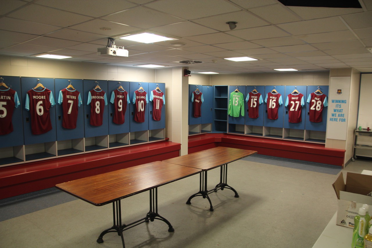 Home Changing Room on Level 0.