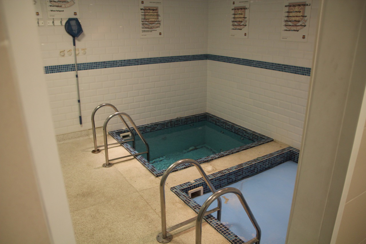 Home Changing Room Plunge Pools.