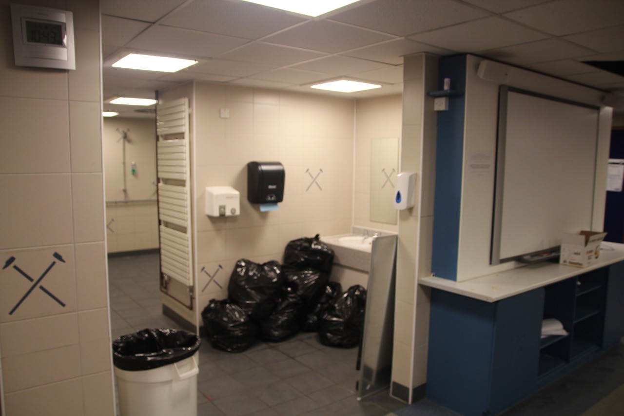 Home Changing Room Toilets.