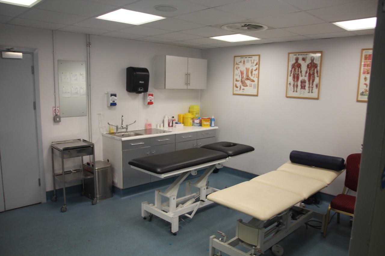 Medical Room on Level 0.