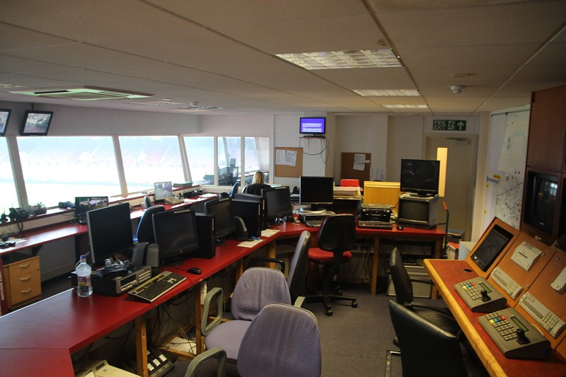 Control Room on Level 3.