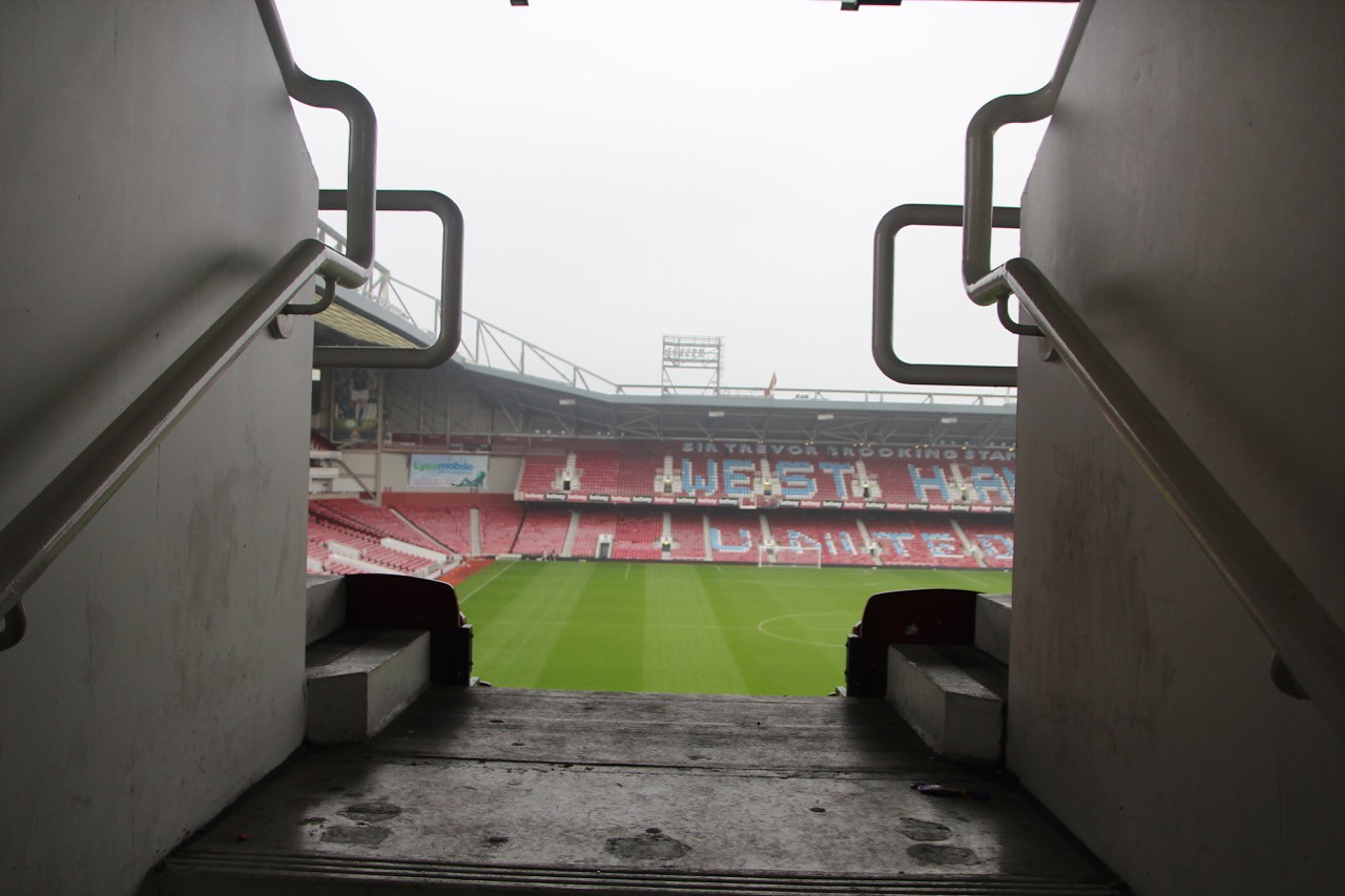 Level 1 access into Bobby Moore Stands.