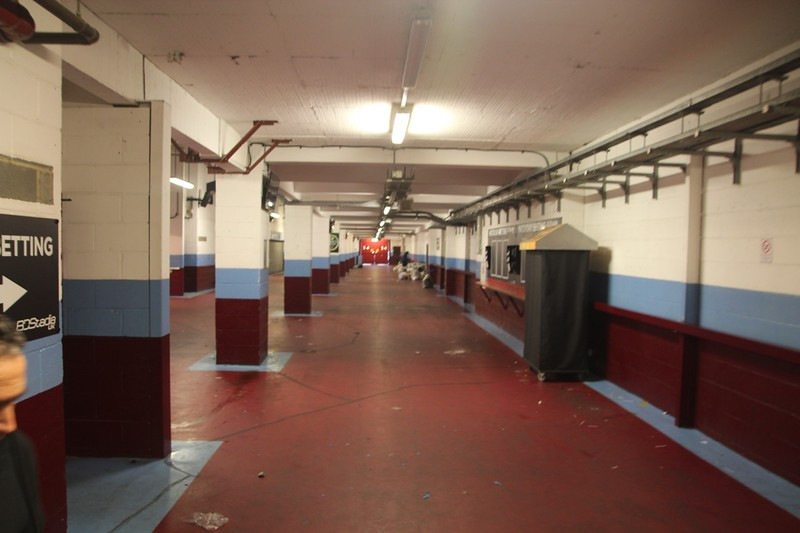Concourse Under Bobby Moore Stands.