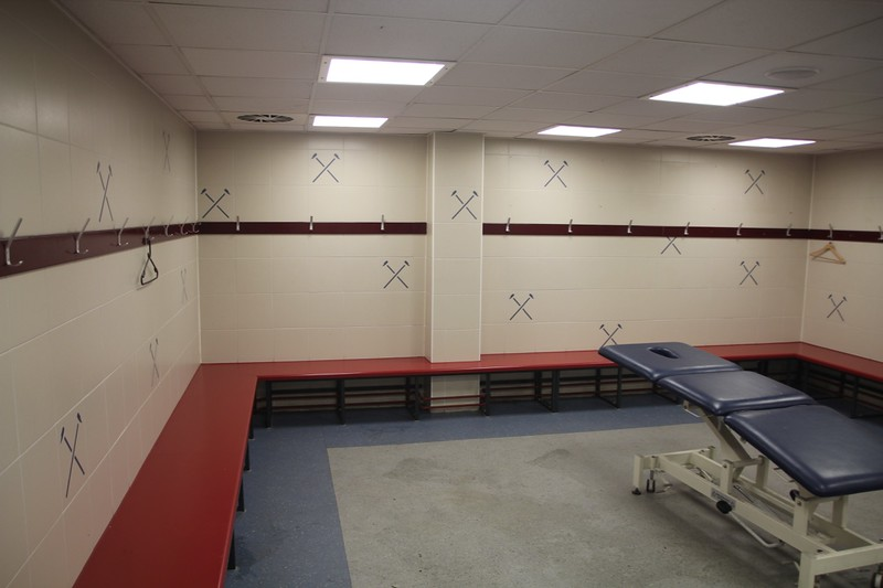 Away Changing Room on Level 0.