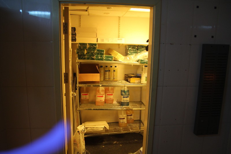 Store Room at Main Kitchen on Level 1.