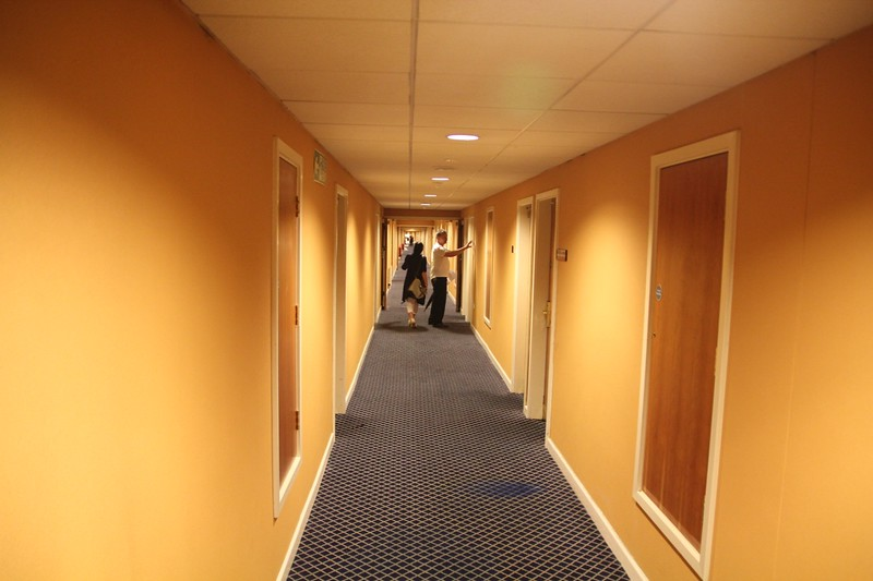 Hotel Corridors on Level 3.