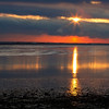 SUNRISE OVER DUXBURY BAY I
