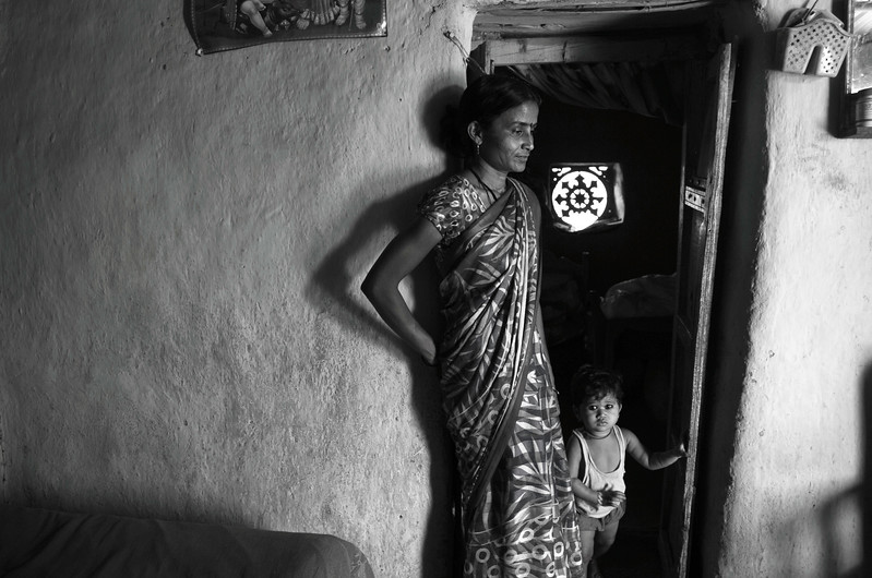 Savita Praveen Chaudhari, 30, Vai, Amravati district<br /> <br /> She was only 17 when she got married and now has two kids. Praveen died just 7 months ago which is the most recent case of farmer suicide in the district. She is now looking forward to start a small business to take care of her two children.