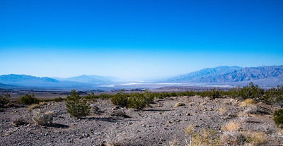 Looking straight south toward Furnace Creek. Only 85 degrees at ~10am