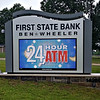 First State Bank, Ben Wheeler