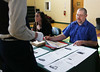 HOLLY PELCZYNSKI - BENNINGTON BANNER Brian Maroney helps student understand how much it actually costs to ride in the vehicle of their choosing. Breaking down the costs, from car payments to  insurance and gas money. Choices from Trucks, Suvs, sedans and public transportation.
