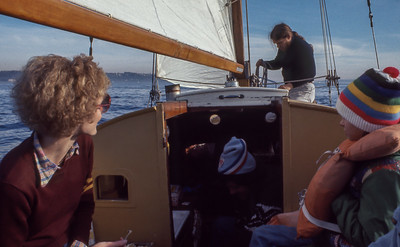 Sailing in Seattle 1977