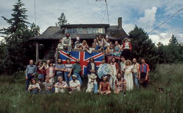 The US Bicentennial Granite Falls Washington 1976