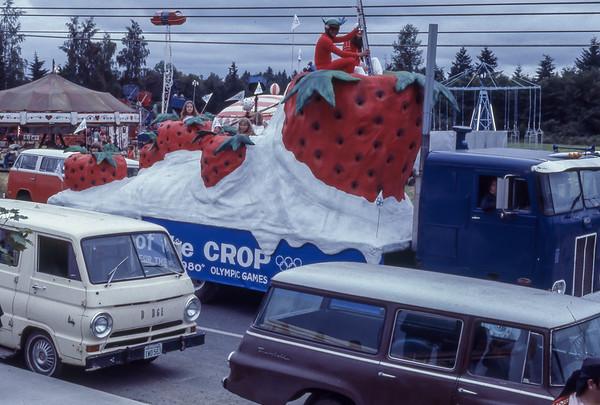 Vashon Island Strawberry Festival 1978