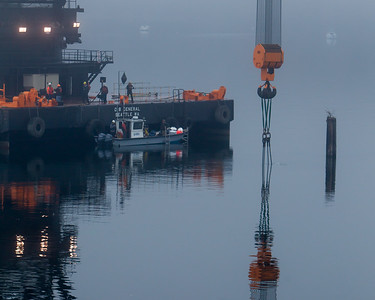 DB General big crane visits Dockton