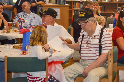 Veterans Day Ceremony at Goforth Elementary