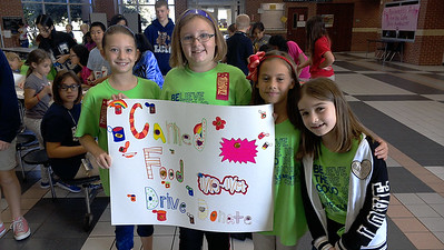 Student Council Meeting-League City Intermediate, Goforth Elementary and Hyde Elementary