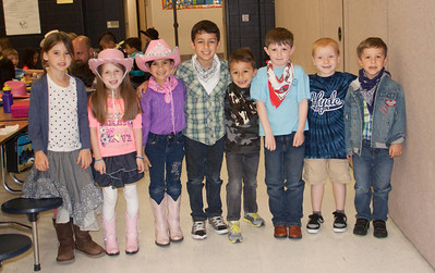 Go Texan Day at Hyde Elementary