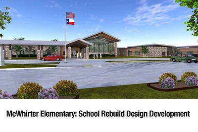 McWhirter Elementary School Rebuild Design Development