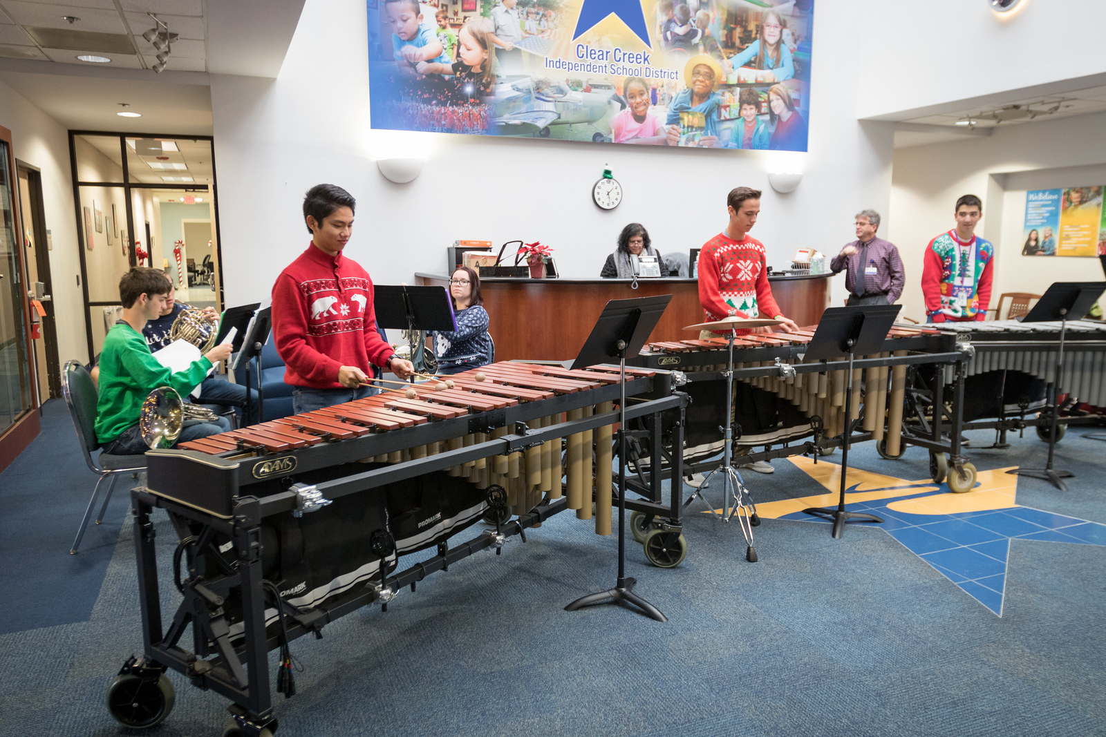 Clear Brook High School Ensembles