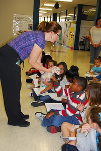 Outreach visit Ross Elem