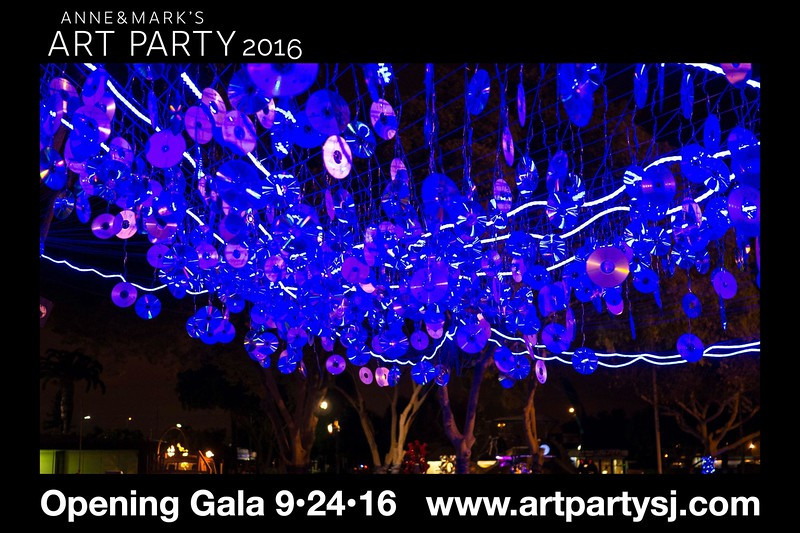 anne & marks art party 2016