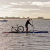 Stand Up Paddling with your favorite bicycle
