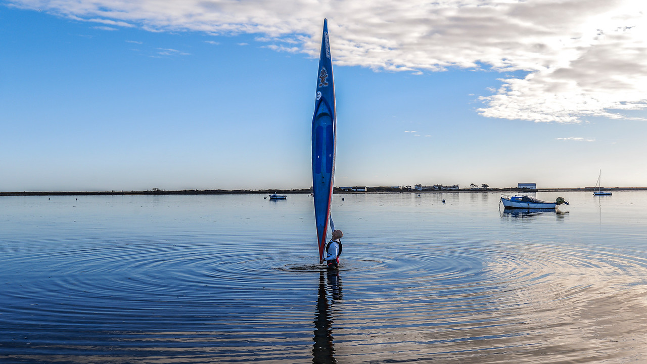 """Starboard Sprint UL 17'6 x 23"""" - in Brittany, France"""