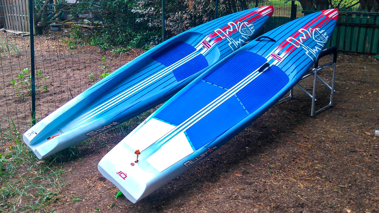 Starboard Allstar 14x25 and Sprint 14x23