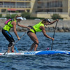 Seychelle Hattingh, and Olivia Piana just in front