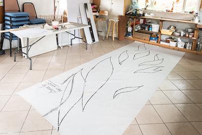 Designs in Old Art Studio