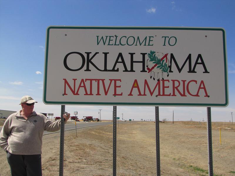 Casual Cache-machine enters Oklahoma.