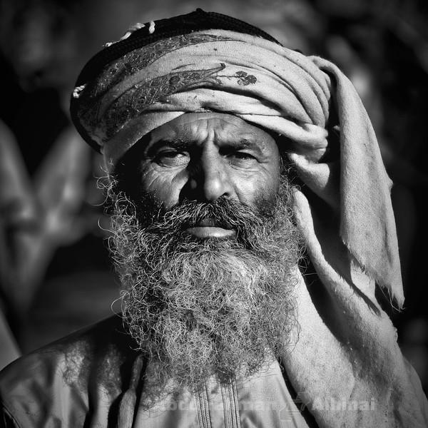 A Beduin Portrait