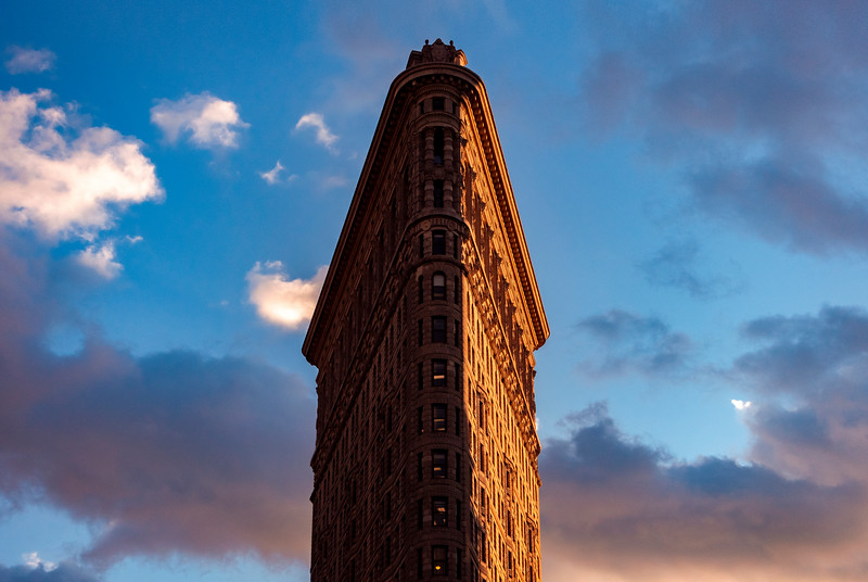 Flatiron Building Sunset
