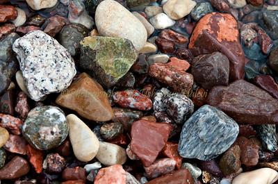 Red Sea Colored Rocks - 2916