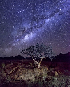 Milky Way and Night Sky of Namibia