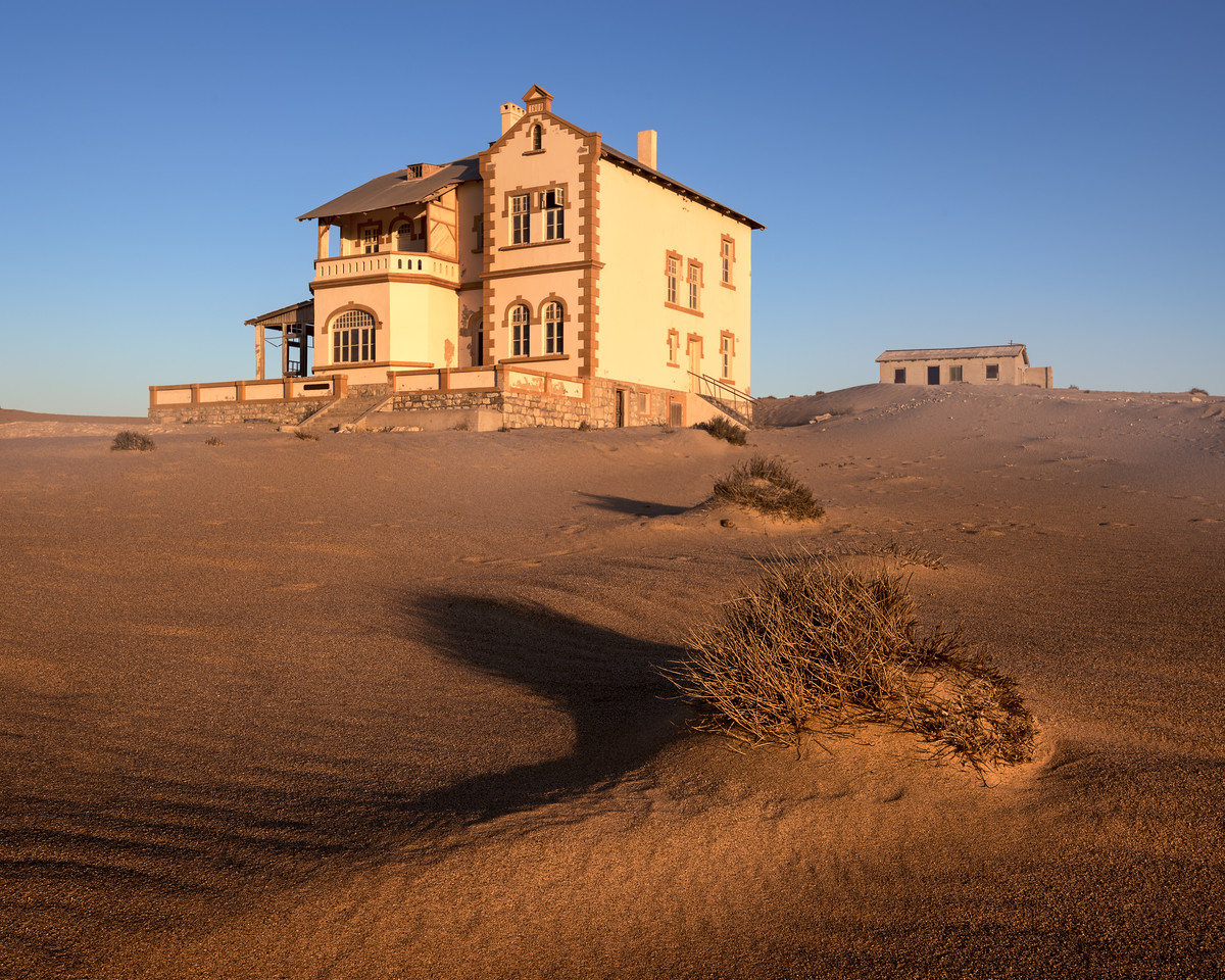 The Ghost Town of Kolmanskop, Namibia
