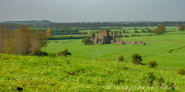Hore Abby from the Rock of Cashel