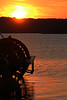 Paddle Wheel at sunset, September 2013