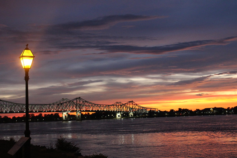 Natchez, Mississippi Sunset - June, 2013