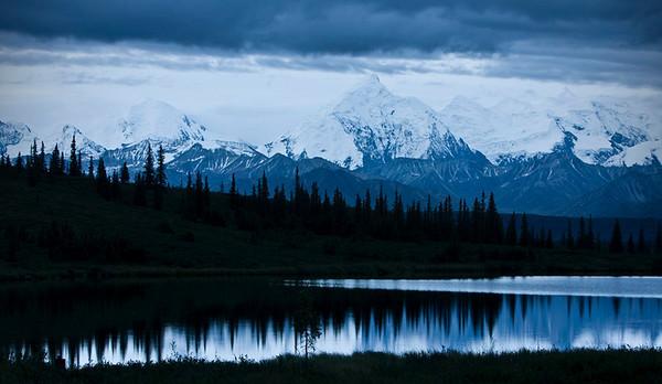 Midnight at Wonder Lake