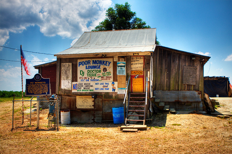 Po' Monkey Lounge<br /> Merigold, MS